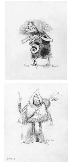 carter goodrich | The Croods, por Carter Goodrich | THECAB - The Concept Art Blog