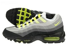 The original Nike Air Max 95. I have 4 pairs of these, one being the original release!