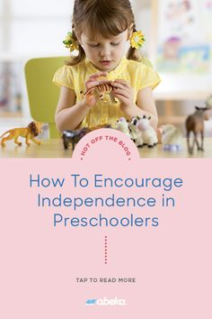 Encouraging independence in preschoolers can be a daunting yet necessary task. In our recent blog, a veteran of the industry shares five areas that are essential to developing independence at this critical age. Christian School, Homeschooling, Preschool, Encouragement, Teacher, Reading, Blog, Preschools, Professor