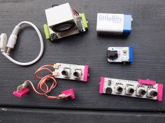 littleBits + KORG - magnetic modular synth.