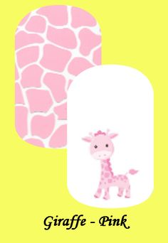 My custom Jamberry Wraps giraffe NAS Nail Wraps #jamberry #gabbysjams Contact me if you are interested in purchasing them:https://www.facebook.com/groups/1000449243382687/ or gabbysjams@gmail.com or https://www.facebook.com/gabbysjams/ DIY, nail art, cute,