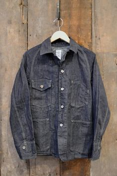 //\\ Post Overalls Engineers Jacket 10oz Japanese Denim