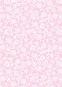 Floral lace on a pink background.  After this was pinned, carmenrabazo.com removed all their pretty papers.  I can save these images, resize them on the computer,  and print them.