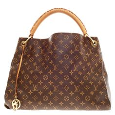 Louis Vuitton Artsy Monogram Canvas MM | From a collection of rare vintage tote bags at https://www.1stdibs.com/fashion/handbags-purses-bags/tote-bags/