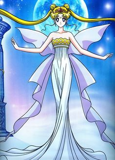 Sailor moon as Neo Queen Serenity