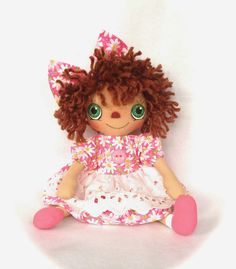 Cotton Candy Dolls: Sweet Little Daisies