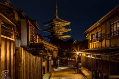 """The Journey - That was the final shot of amazing Kyoto journey just before I took to train back to Tokyo…  Kyoto…The City of traditions, colours & serenity….This temple at the end of the old street reminds me one of my favourite quotes: """"Life is a journey, not a destination""""   BeNowMeHere, Kyoto, Japan, 2015"""