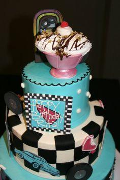 ice cream parlor cake