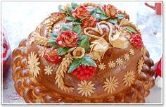 Свадебный каравай: запеченный символ благополучия Wedding loaf, a baked symbol of prosperity