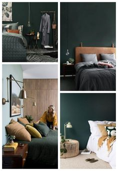 décoration vert bouteille chambre Home Staging, Decorating, Bedroom, Furniture, Home Decor, Hobby Lobby Bedroom, Green Bed Sheets, Green Furniture, Green Decoration