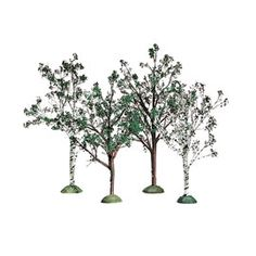 "Department 56: Products - ""Village Spring/Summer Trees"" - View Products"
