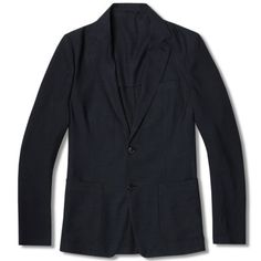 Our Legacy Two Button Unconstructed Blazer (Mid Indigo)