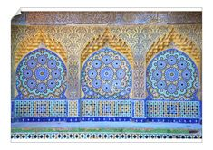 Tangier Morocco, Moroccan Tiles, Islamic Architecture, Moorish, North Africa, Gloss Matte, Wood Carving, Poster Size Prints, Photo Wall Art