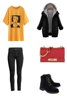 Bez tytułu #105 by wiki208 on Polyvore featuring polyvore, Off-White, Moschino, fashion, style and clothing