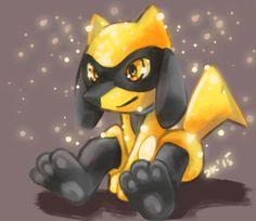 bak62:  Shiny Riolu by CelestiallKirin    Heres a Golden Riolu