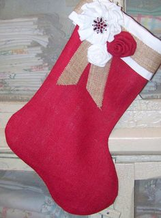 so cute - I just bought new stockings this year... but now I want to make some!