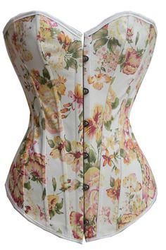 769aefcbaa corset de flores me encanta con unos jeans!!! http   coteseduction ...