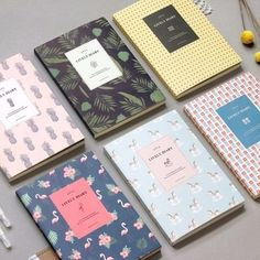 2016 Iconic Lively Diary Scheduler Journey Monthly Journal Korean Planner DATED #Fairycloset