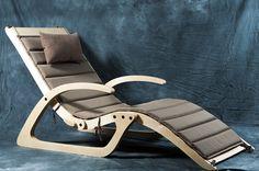 Шезлонг True: купить в интернет-магазине современной дизайнерской мебели | take&live