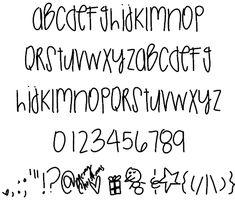 ChristmasSeason font by Des - FontSpace Cool Fonts Alphabet, Abc Font, Handwriting Alphabet, Hand Lettering Alphabet, Doodle Lettering, Creative Lettering, Lettering Styles, Alphabet Art, Monogram Fonts
