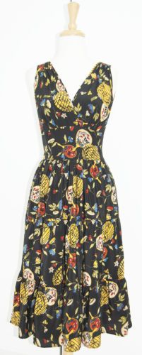 RARE-TRASHY-DIVA-SILK-DORIE-DRESS-asia-holiday-retro-vintage-inspired-style