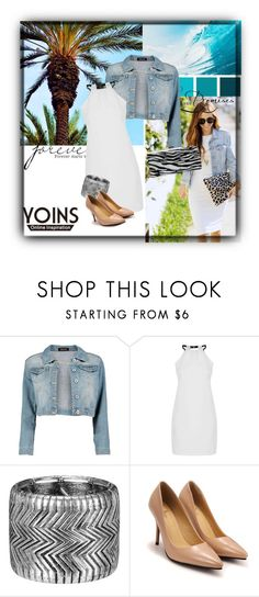 """Yoins12"" by dzena-05 ❤ liked on Polyvore featuring Boohoo and Nina"