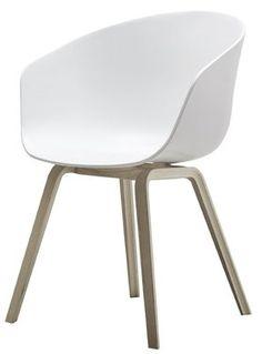 HAY Stuhl - About a Chair AAC22 - weiß von amazon