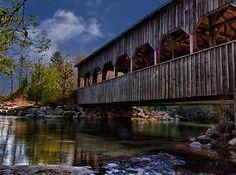 Covered Bridge by Kathy Weaver