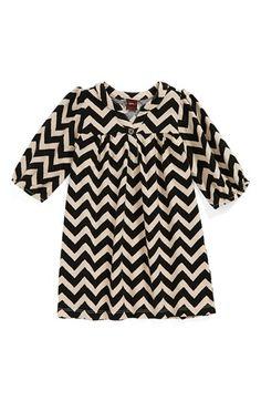 Tea Collection 'Zigzag Tile Print' Minidress (Baby Girls)   Nordstrom