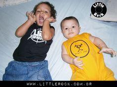 Nicolas e Nathan, puro Rock \m/ #LittleRock