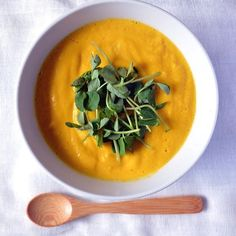 Just ending another #egsoupcleanse week. I had to share one of my favorite soups that I can devour every week - Creamy Carrot Ginger Turmeric Soup. The nutrients are off the charts and the creamy texture and taste are superb.A special note that it's made with my favorite @zumavalleyhealthfoods Coconut Cream and organic hemp seeds are added for protein and omega's. The recipe is going up on the blog today. You'll be amazed at how easy it is to make!