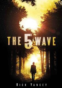"""""""The Wave"""" by Richard Yancey. (The first book in the Fifth Wave series) About the Book: After the wave, only darkness remains. After the only the lucky escape. And after the only the unlucky survive. After the wave, only one rule applies: trust no one. The 5th Wave Book, The 5th Wave Series, The Wave, The Fifth Wave, The Book, Book 1, The 5th Wave Movie, Teen Book Series, Book Title"""
