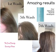 My personal results... I am so happy.. I'll never go back to shop bought shampoo again.m