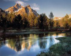 Mcgown Peak, Sawtooth Wilderness, Idaho ~ photo by Leland Howard