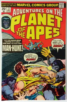 Marvel Comics – Adventures on the Planet of the Apes #3 NM 9.4 1975 Bronze - Upcoming Movie!