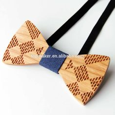 Wholesale Amazon Hot Marketing Men's Bow Tie wooden For Suit Handmade New…