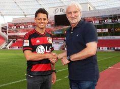 Chicharito Hernández deja el número 14 para usar el 7 en Bayer Leverkusen - http://www.tvacapulco.com/chicharito-hernandez-deja-el-numero-14-para-usar-el-7-en-bayer-leverkusen/