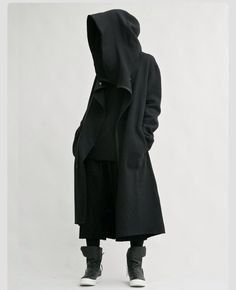 Grim Reaper oversized hood piece on ULTRA FLEEK!