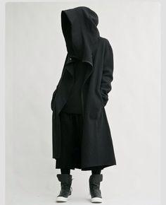 Grim Reaper oversized hood piece on ULTRA FLEEK!
