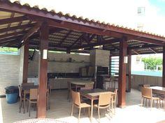 Deck/Área da Piscina - Cond. Ed. Touriz