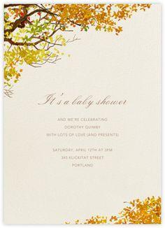 Autumn Boughs - Paperless Post