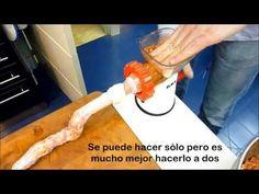 Receta: Chorizos Caseros - Morfi - YouTube