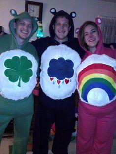 Carebear Costumes I made for Halloween! Lucky Grumpy and Cheer bear!  sc 1 st  Pinterest & Halloween: No-Sew Care Bear Costumes | costumes | Pinterest | Care ...