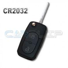 Coque de clé plip A3 A4 A6 RS4 pour pile CR2032