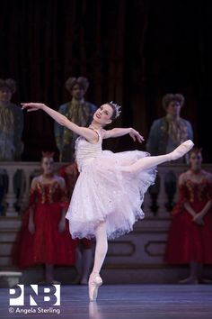Rachel Foster in Cinderella - Pacific Northwest Ballet Pacific Northwest Ballet, Ballet Dance, Ballet Skirt, Mikhail Baryshnikov, Have Courage And Be Kind, Ballet Theater, Ballet Costumes, Costume Shop, Dance The Night Away