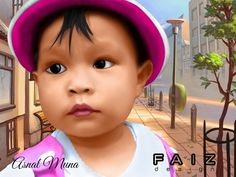 Cartoon, Caricature, Art Design, Semudge Painting