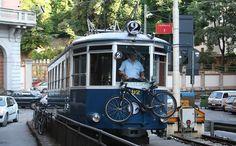 Tram de Opicina nel Trieste, Friuli Venezia Giulia