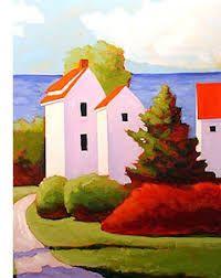 Risultati immagini per sveta esser paintings Watercolor Architecture, Naive Art, Landscape Art, Monuments, Painting Inspiration, Watercolor Paintings, Acrylic Paintings, Watercolour, Amazing Art