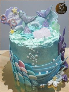 New Cupcakes Fondant Sirena Ideas Fondant Cupcakes, Buttercream Fondant, Fun Cupcakes, Cupcake Cakes, Little Mermaid Cakes, Mermaid Birthday Cakes, Birthday Cake Girls, Mermaid Tail Cake, Sirenita Cake