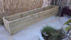 tutoriel bac en bois pour fleurs bambous jardin pinterest projets et ps. Black Bedroom Furniture Sets. Home Design Ideas